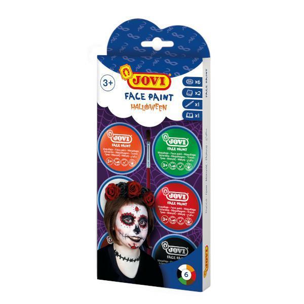 Zestaw do malowania twarzy Hallowen JOVI
