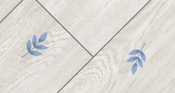 Panele V&B HERIT LEAFS 3552 blue leaf