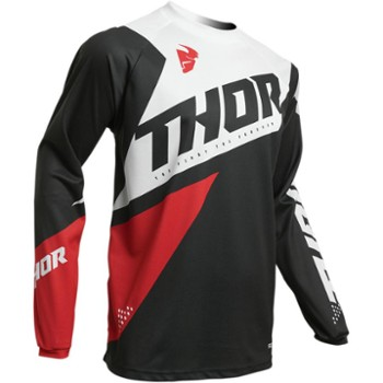 Bluza THOR S20 Sector Blade ch/rd L