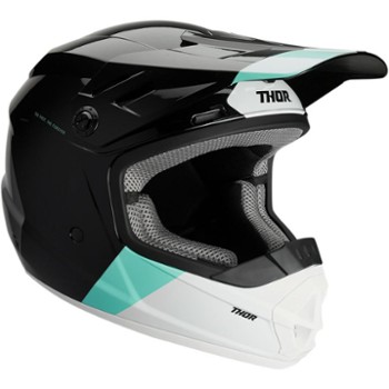 Kask THOR SECTOR BOMBER Y BK/MT M