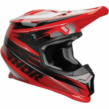 Kask THOR SECTOR WARP RD/BK XL