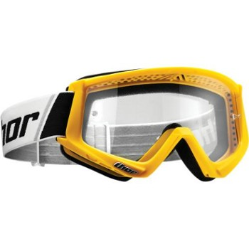 Gogle Thor COMBAT yellow/black