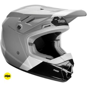 Kask THOR SECTOR BOMBER Y CH/WH L
