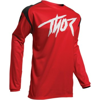 Bluza THOR S20 Sector Link Red XL