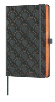 notes A5/linia Copper ART DECO