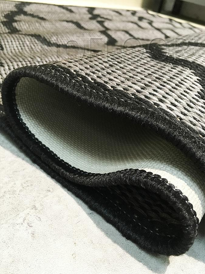 Dywan Suva Sisal 825/221 Grey/Black 80