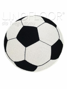 Dywan Ball Black White 100