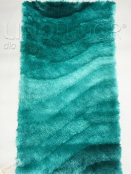 Dywan Shaggy 3D 201 Turquoise 80
