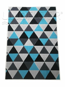 Dywan Royal Geo/Grey/Blue 200
