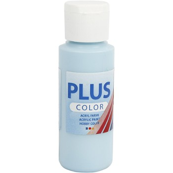 Farba PLUS Color 60 ml Błękit Lodu