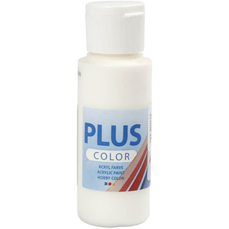 Farba PLUS Color 60 ml Złamana Biel