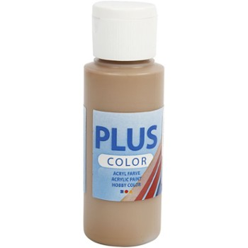 Farba PLUS Color 60 ml Jasno Brązowa