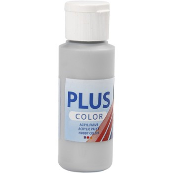 Farba PLUS Color 60 ml Metaliczna Srebro