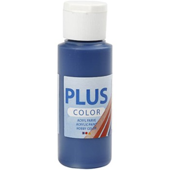 Farba PLUS Color 60 ml Granatowa