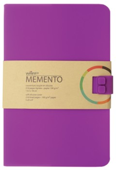 WAFF MEMENTO notes A5 Purpurowy