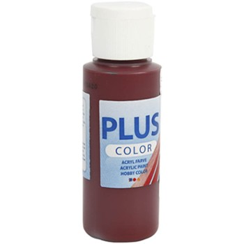 Farba PLUS Color 60 ml Bordowa