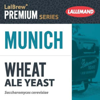 Drożdże do piwa Lallemand Danstar Munich Wheat Beer 500 g