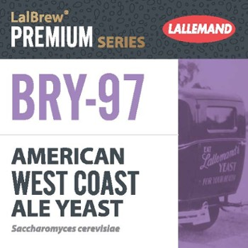 Drożdże do piwa Lallemand BRY-97 American West Coast 11 g