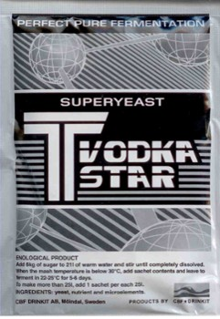 Drożdże T VODKA STAR