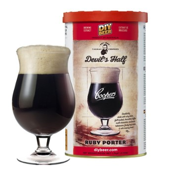 Koncentrat Coopers Devil's Half Ruby Porter