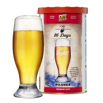 Koncentrat Coopers 86 Days Pilsner 1,7 kg