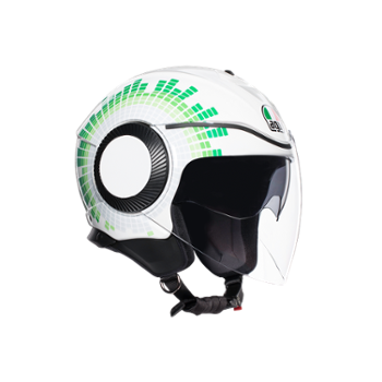 Kask AGV Orbyt L Ginza White/Italy