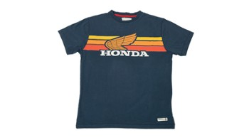 Koszulka Honda Sunset Navy Blue XL