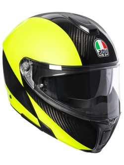 Kask AGV Sportmodular XL Carbon/Yellow