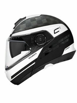 Kask Schuberth C4 Pro XL Tempest White