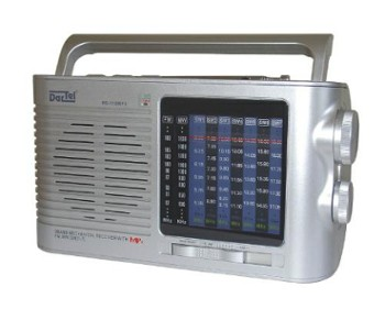 DARTEL RADIO RD110MP3 srebrne
