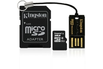 KINGSTON micro SD 16GB + akcesoria