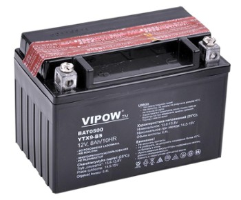 Akumulator VIPOW typ MC do moto. 12V 8Ah