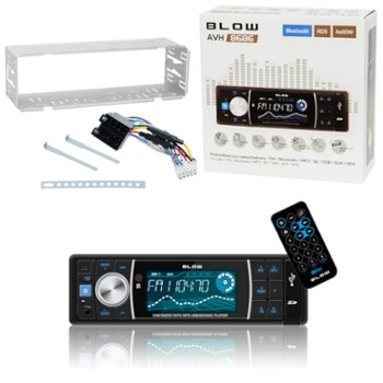 Radio BLOW AVH-8686 MP3+PILOT+BLUETOOTH