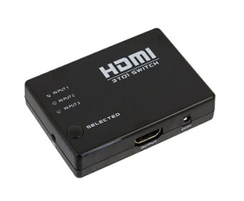 SWITCH HDMI FULL HD 3 IN 1 OUT PILOT