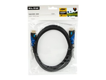 Kabel HDMI-HDMI BLUE 2.0 4K 3,0m