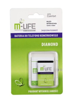 BATERIA M-LIFE DO C3 1650MAH