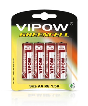 Baterie VIPOW GREENCELL R6