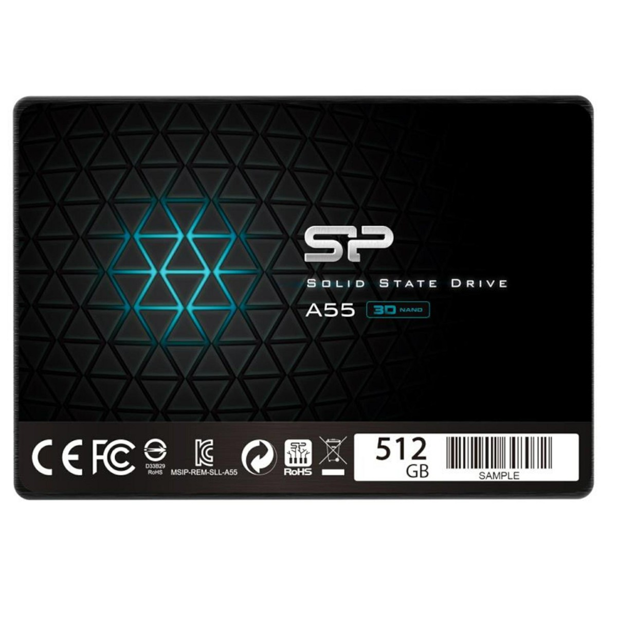 Silicon Power Dysk SSD A55 512GB 2,5