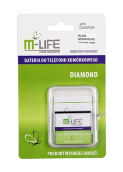 BATERIA M-LIFE DO HTC HD MINI 1700MAH