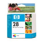 Cartridge HP C8728A No.28 tri-colour 8m