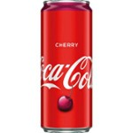 Coca Cola 330ml Cherry puszka