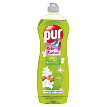 Płyn do naczyń PUR 750ml Litchi i jaśmin