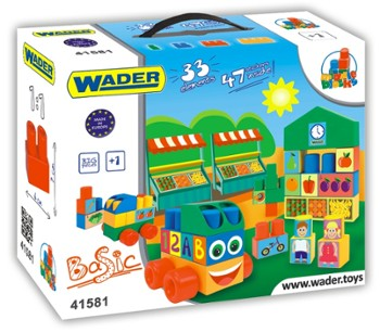 WADER 41581 klocki middle blocks