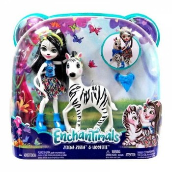 ENCHANTIMALS Zellena Zebra i Hoofette
