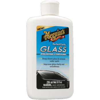 Meguiars Perfect Clarity Glass Polishing Compound 236ml Środek do Intesywanego Czeszczenia Szkła