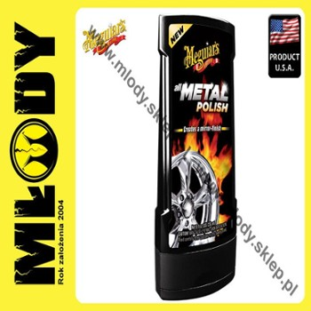 Meguiar's All Metal Polish 236ml Pasta do Polerowania Metalu