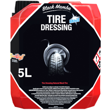 GOOD STUFF Black Mamba Tire Dressing SHINE 5l Nabłyszczający Dressing do Opon