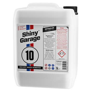 SHINY GARAGE 10 Bug Off Insect Remover 5l Preparat do Usuwania Owadów