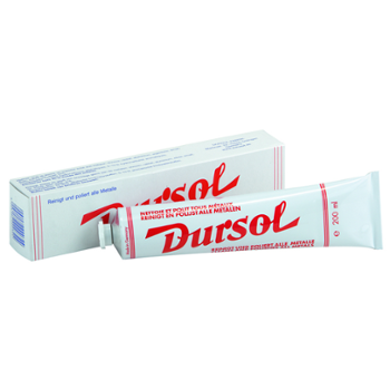 AUTOSOL DURSOL Metal Polish 200ml Pasta do Aluminium Chromu Metalu