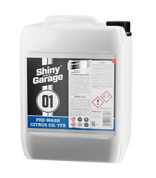 SHINY GARAGE Pre-Wash Citrus Oil TFR 5l Preparat do Mycia Wstępnego